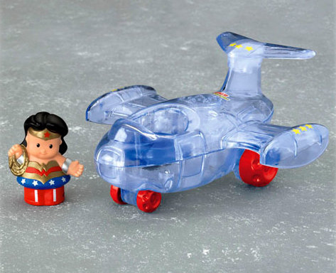 Little People Wonder Woman Invisible Jet ($15)