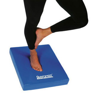 Balance Exercises Using a Foam Pad