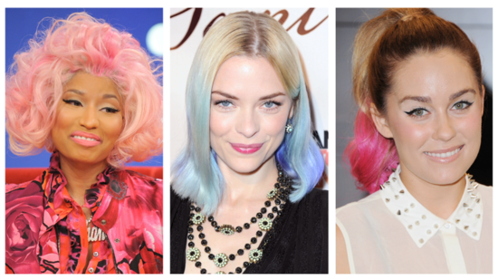 Liven Up Your Hair With Commitment-Free Chalk Color