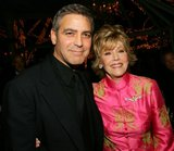 Jane Fonda was the lucky lady by George Clooney's side at a January 2006 event in NYC.
