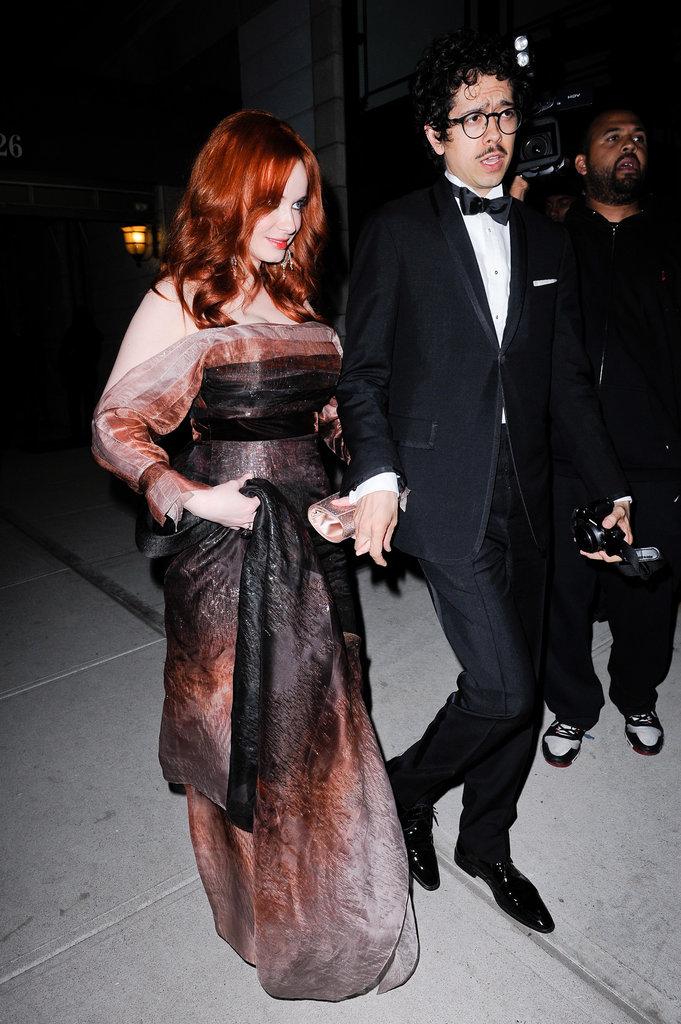 Christina Hendricks and Geoffrey Arend —2011