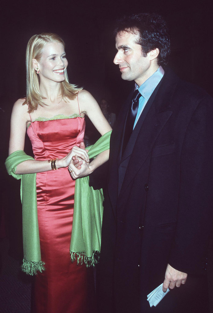 Claudia Schiffer and David Copperfield —1998