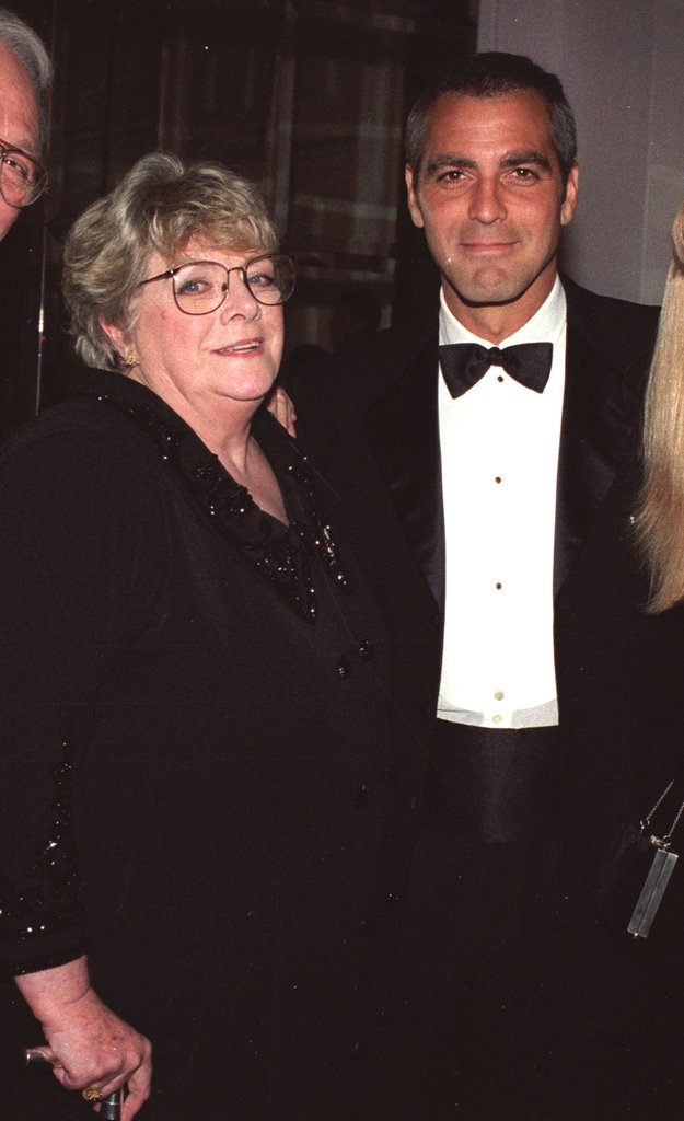 George Clooney hung out with his Aunt Rosemary at an event in October 1998.