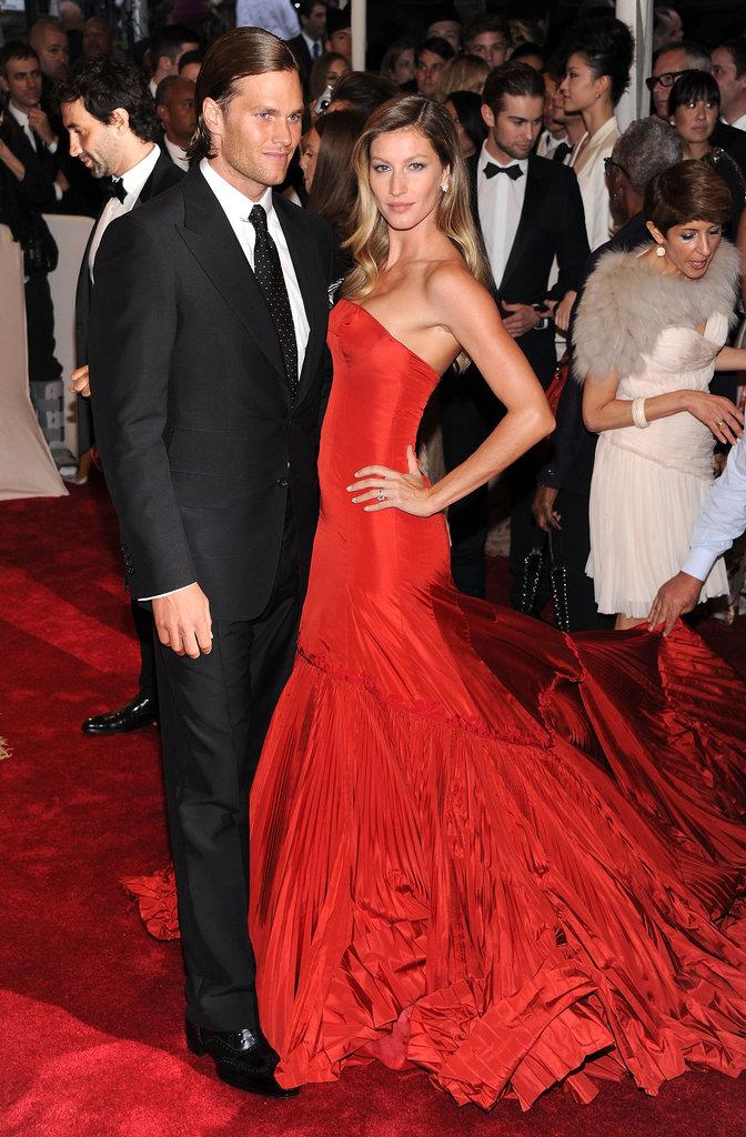 Gisele Bundchen and Tom Brady — 2011