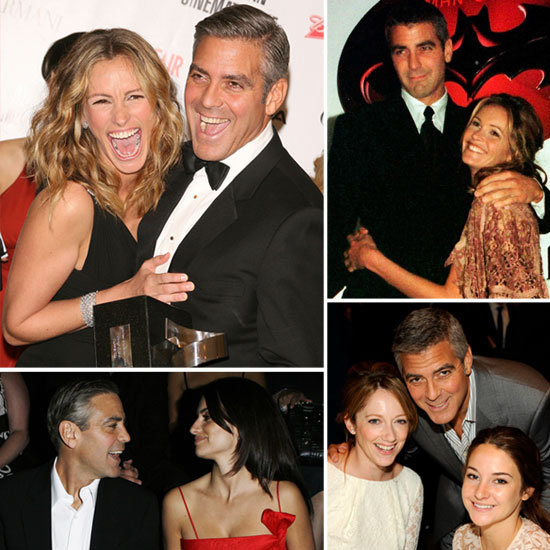 See All the Famous Ladies in George Clooney's Life For His 51st!