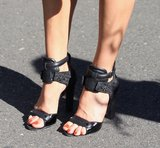 Here's a closer look at these totally cool-meets-athletic Alexander Wang sandals.
