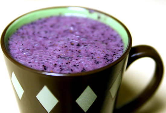 Blueberry Banana Bean Smoothie