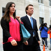 John Edwards&#039;s Daughter Cate Leaves Courtroom