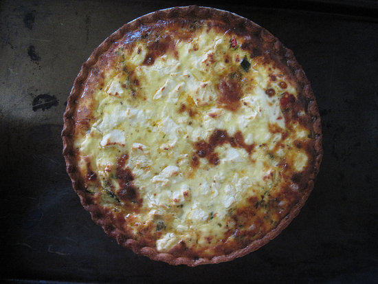 Mediterranean Quiche