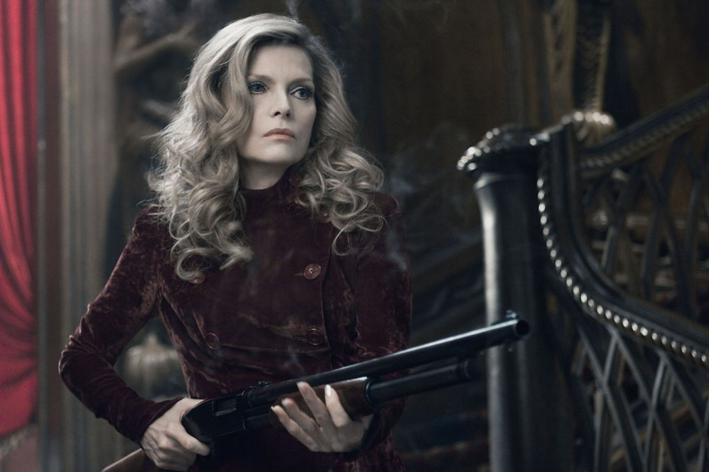 Michelle Pfeiffer as Elizabeth Collins Stoddard in Dark Shadows.  Photo courtesy of Warner Bros.