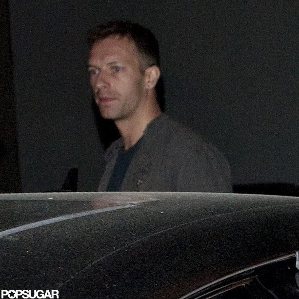 Chris Martin went to dinner with Gwyneth Paltrow and Cameron Diaz.
