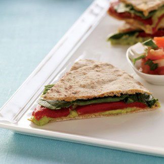 Healthy Quesadilla Recipe Using Pita Bread