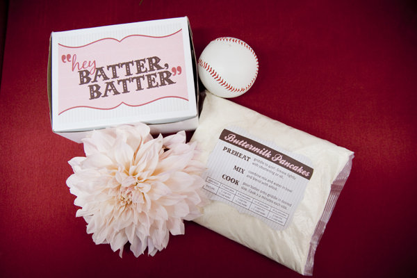 Pancake Batter Favors