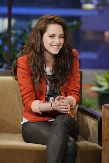 Kristen Stewart stopped by The Tonight Show Friday.