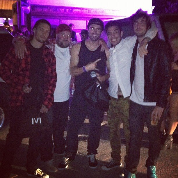 Brody Jenner had a night out with the boys.  Source: Instagram user brodyjenner