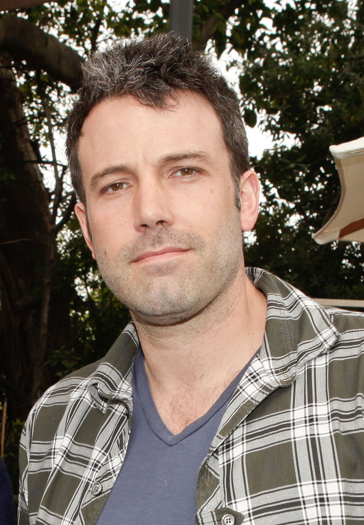 Ben Affleck smiled at a charity poker tournament in LA.