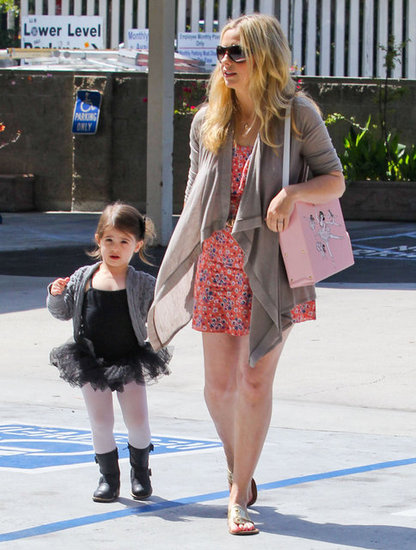 Sarah Michelle Gellar took daughter Charlotte to ballet class in LA.