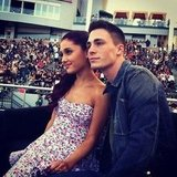 Colton Haynes and Ariana Grande partied at KIIS-FM's Wango Tango event. Source: Instagram user coltonhaynes