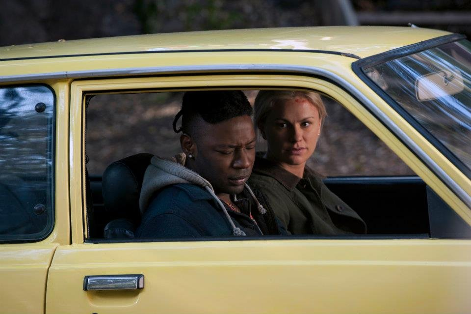 Nelsan Ellis as Lafayette and Anna Paquin as Sookie on True Blood. Photo courtesy of HBO