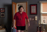 Coach Beiste has a suitcase — does this mean she tries to move out again? Photo courtesy of Fox