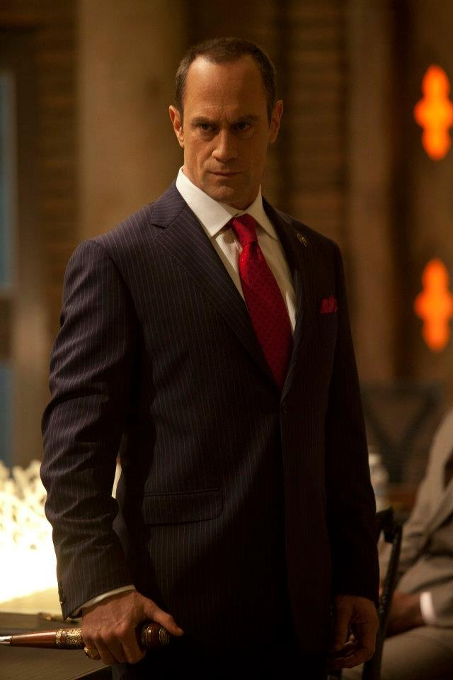 Christopher Meloni as Roman on True Blood. Photo courtesy of HBO