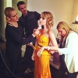 Emma Roberts got a touch-up. Source: Instagram User emmaroberts6