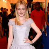 Dakota Fanning in Louis Vuitton Pictures at 2012 Met Gala