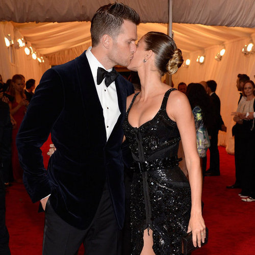 Gisele Bundchen and Tom Brady Pictures at 2012 Met Gala