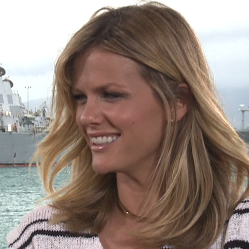 Brooklyn Decker Battleship Interview on Love Scenes (Video)