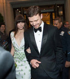 Jessica Biel and Justin Timberlake arrived at the Met Gala in NYC together.