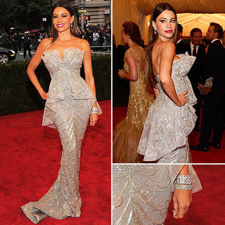 Sofia Vergara at Met Gala 2012