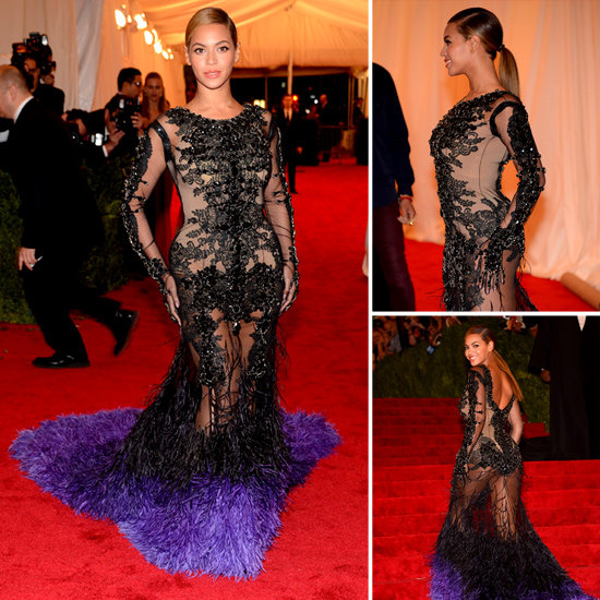 Beyonce at Met Gala 2012