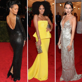 The Top Red Carpet Trends from the 2012 Met Gala Red Carpet: Peplums, Metallics, Backless, Feathers + More!