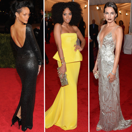 Met Gala 2012 Top Trends