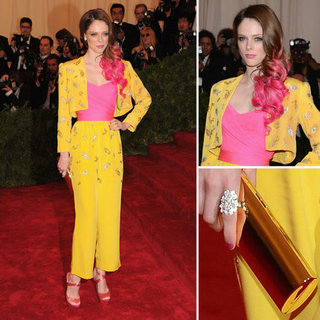 Coco Rocha at Met Gala 2012