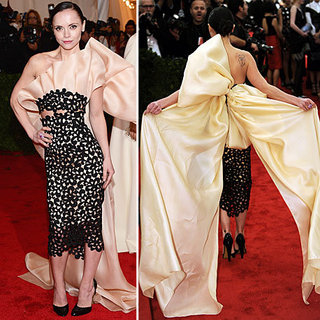 Christina Ricci at Met Gala 2012