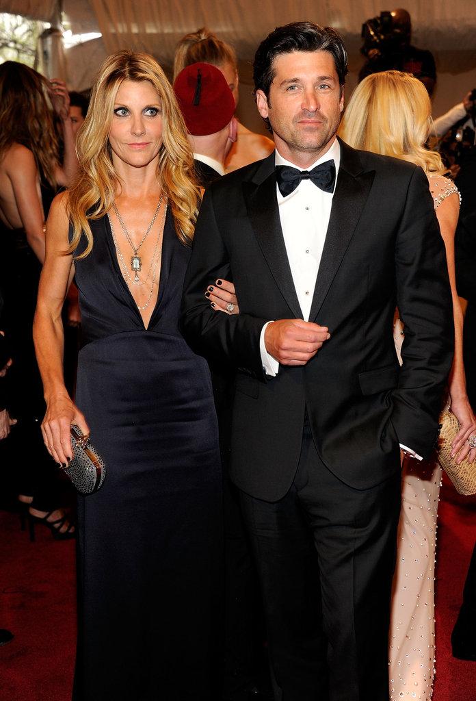 Jillian and Patrick Dempsey in 2011