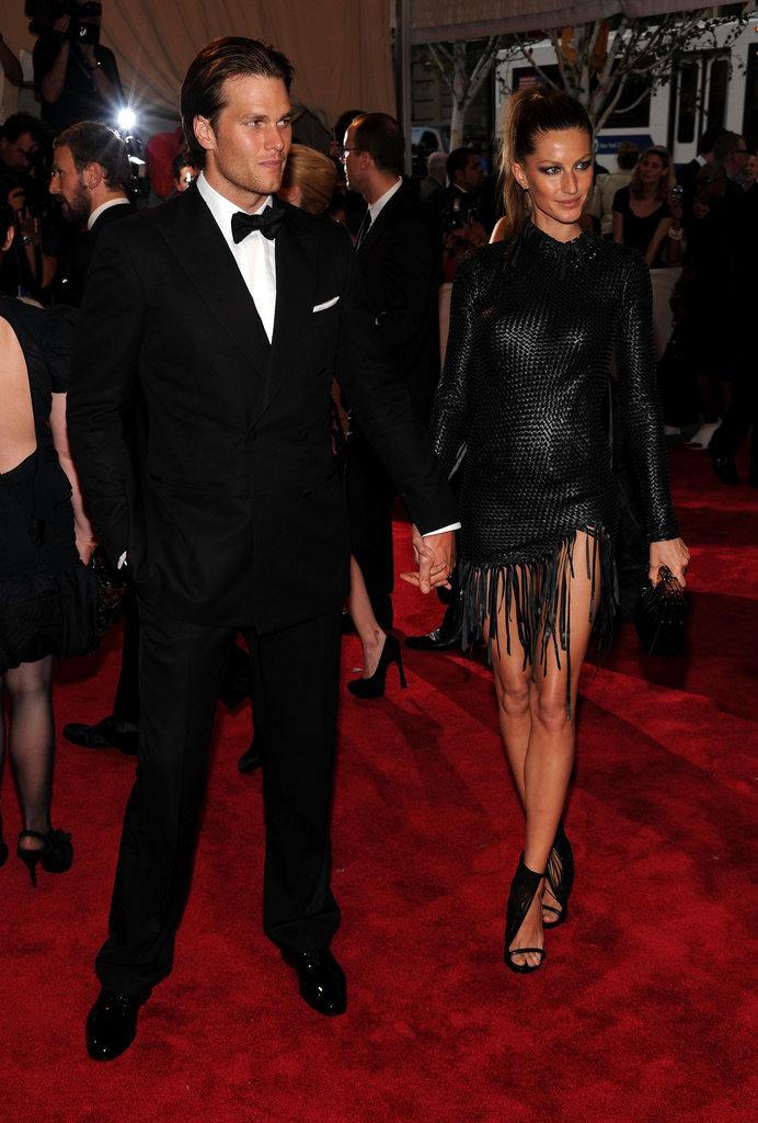 Tom Brady and Gisele Bundchen in 2010