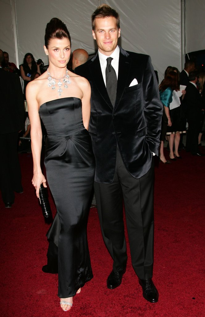 Bridget Moynahan and Tom Brady in 2006