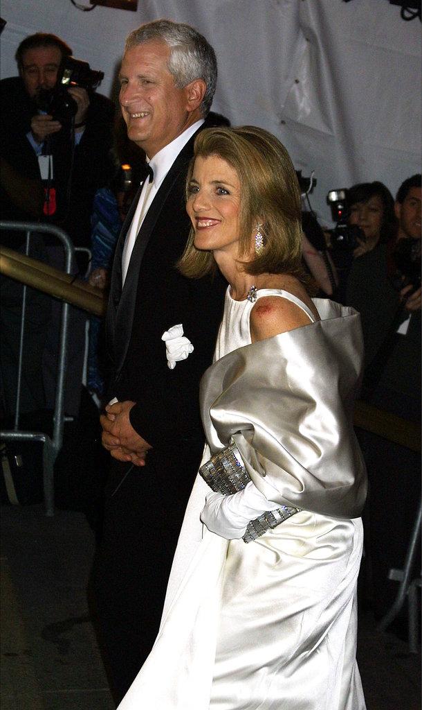Caroline Kennedy and Edwin Schlossberg in 2001