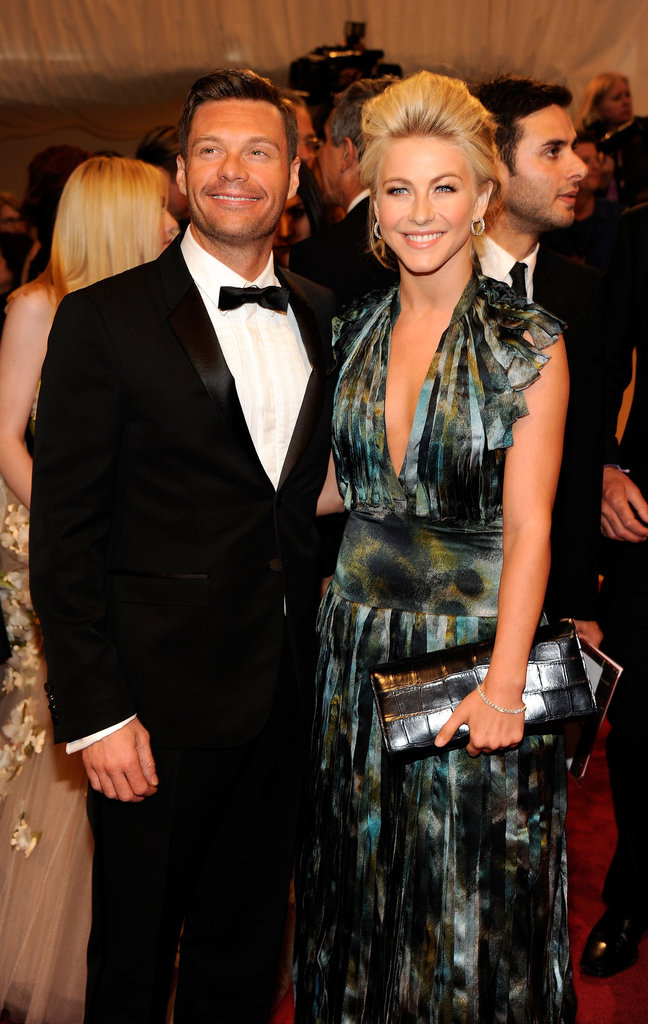 Ryan Seacrest and Julianne Hough in 2011