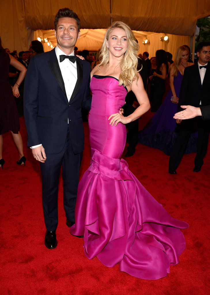 Ryan Seacrest and Julianne Hough in 2012
