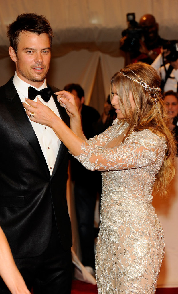 Josh Duhamel and Fergie in 2011