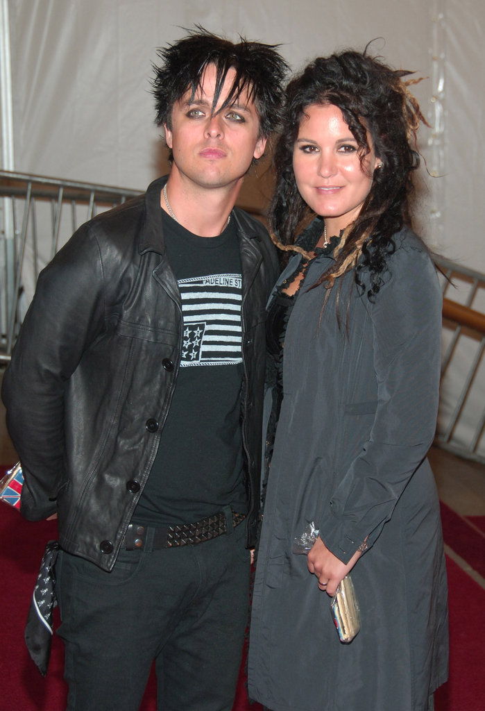 Billie Joe Armstrong and Adrienne Armstrong in 2006