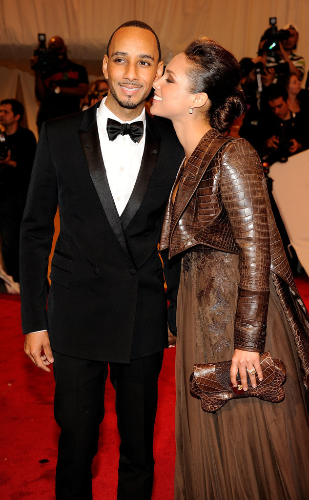 Swizz Beatz and Alicia Keys in 2011
