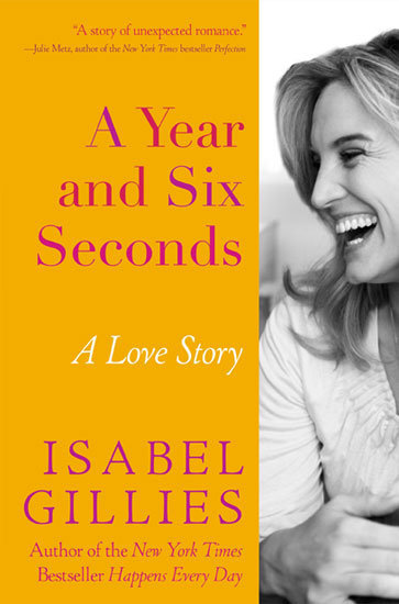 A Year and Six Seconds In her sentimental and lighthearted memoir, A Year and Six Seconds: A Love Story, Law and Order actress Isabel Gillies shares the story of her life as a single mother of two struggling to deal after her husband leaves her for another woman.