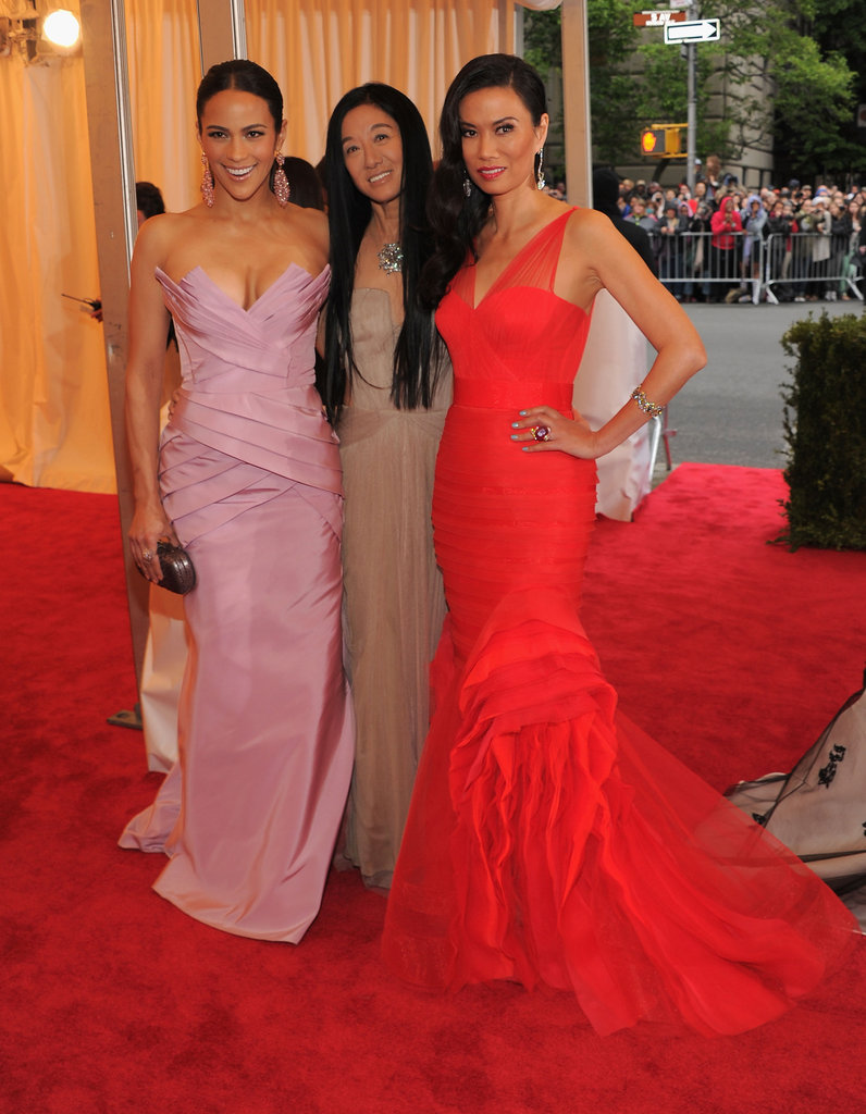Paula Patton, Vera Wang, and Wendi Murdoch