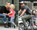 Naomi Watts and Liev Schreiber Take Their Sons For a Bike Ride in NYC