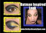 Batman Inspired Make Up Look