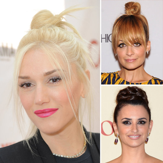 5 Ideas From Stars For Styling a Trendy Top Knot